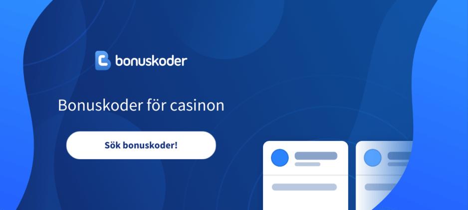 Bonuskoder för casinon