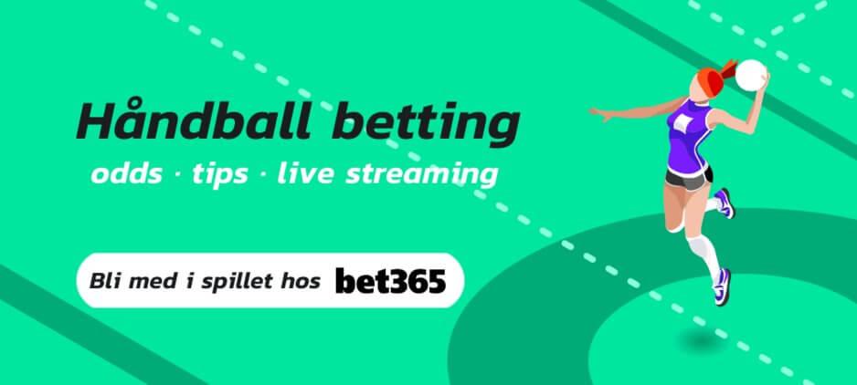Handball betting bet365
