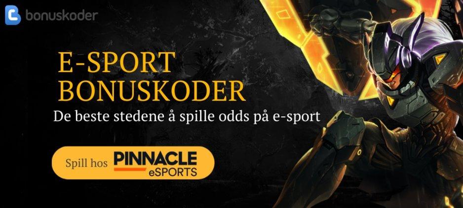E-sports odds bonuskoder