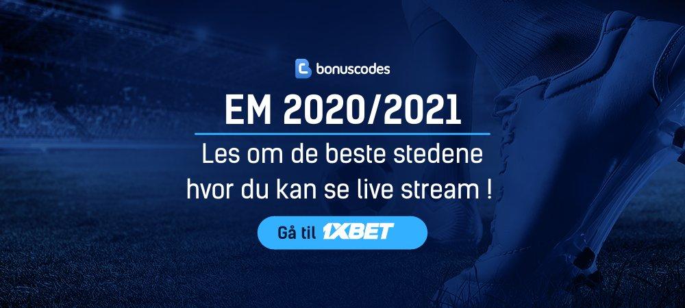 EM 2020 / 2021 Live Strømming