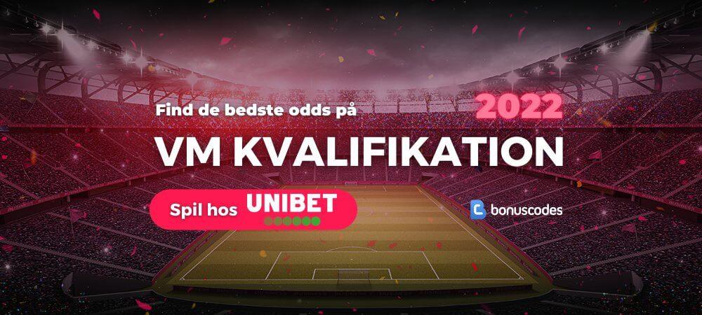 Vm kvalifikation odds banner unibet