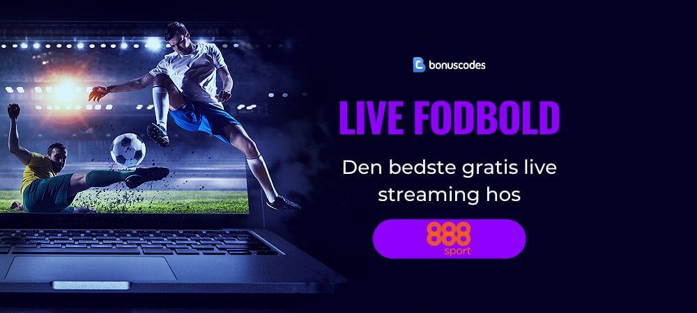 Fodbold live stream gratis banner 888