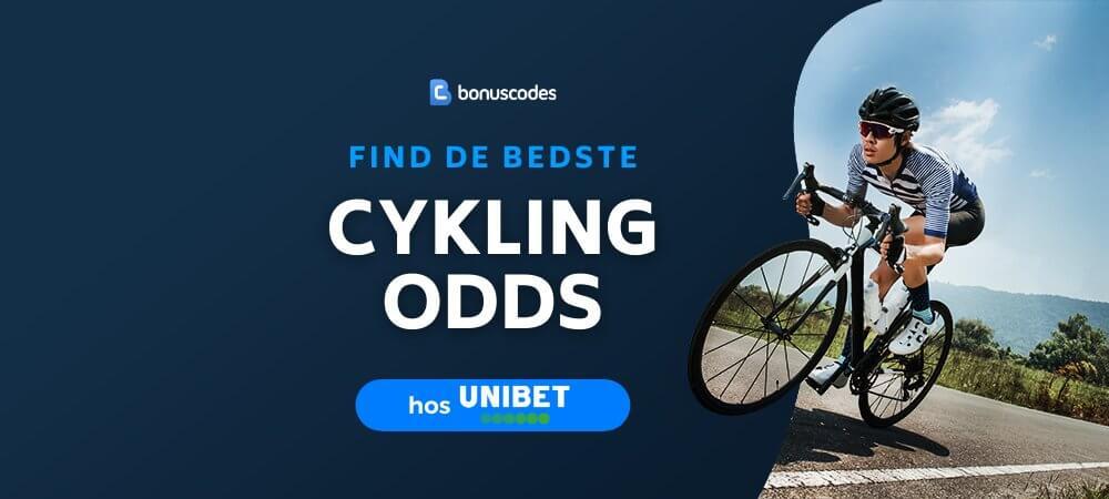 Banner til cykling betting odds unibet