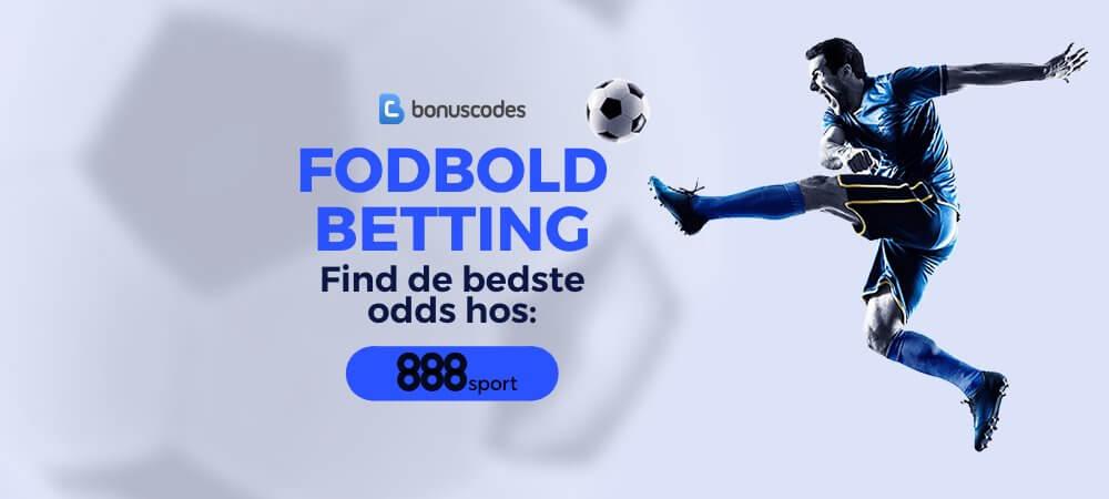 Fodbold bedste betting odds banner 888