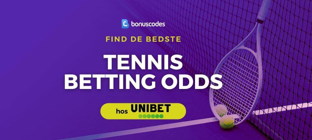 Tennis betting odds tips banner unibet