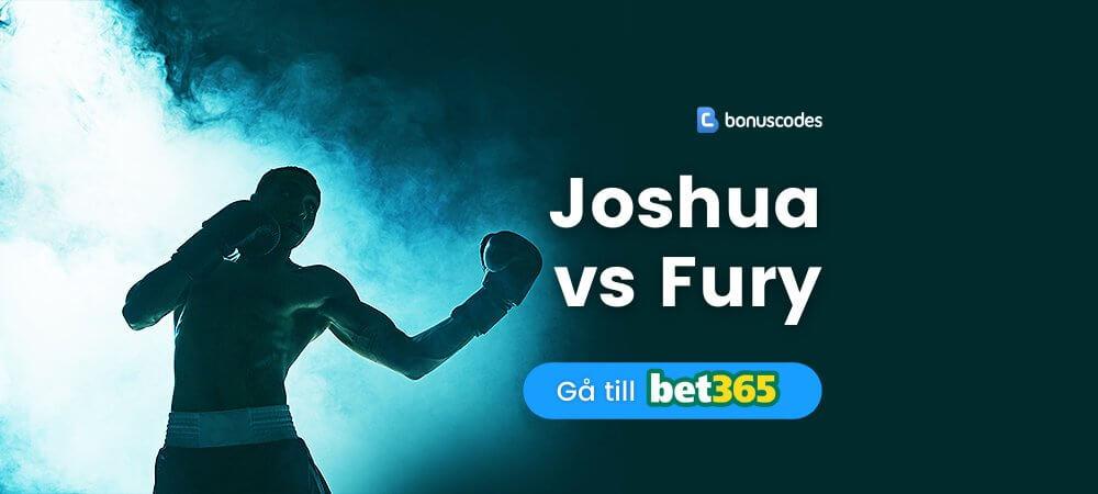 Betta på Joshua vs Fury