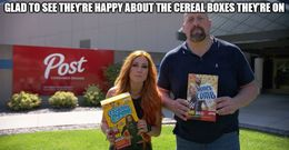 Cereal boxes memes