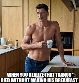 His breakfast memes