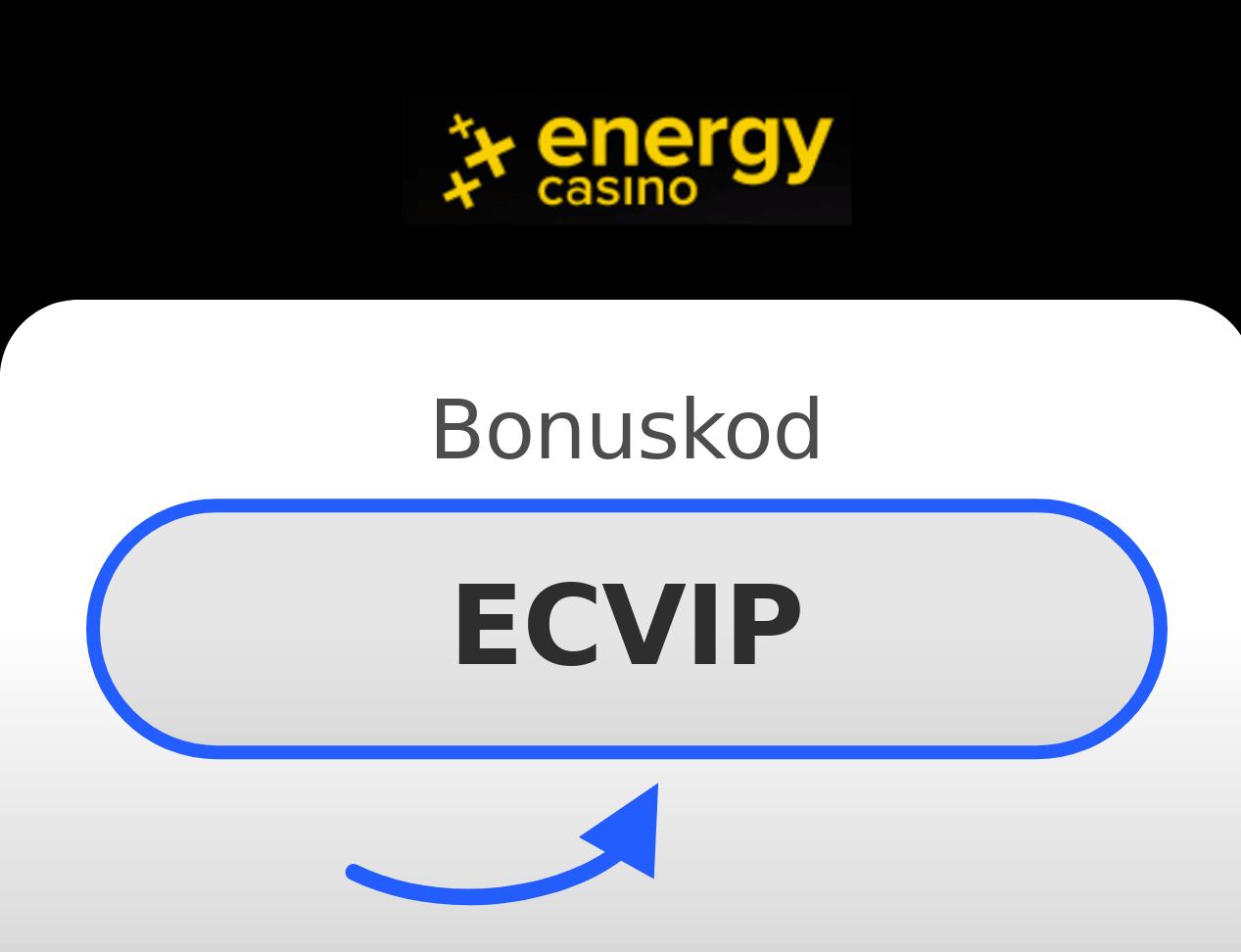 Energy Casino Bonuskod