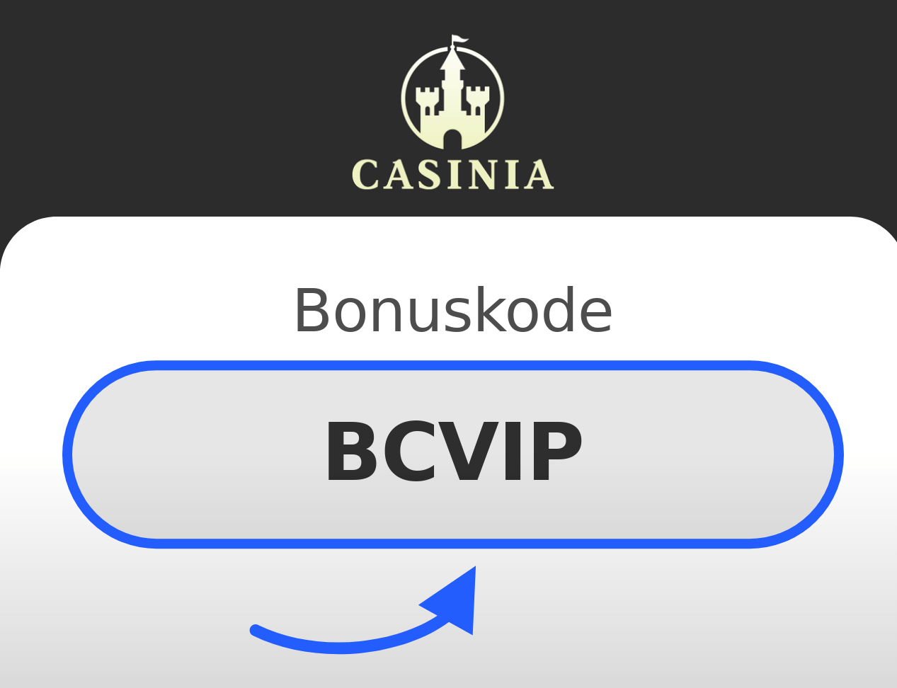 Casinia Bonuskode