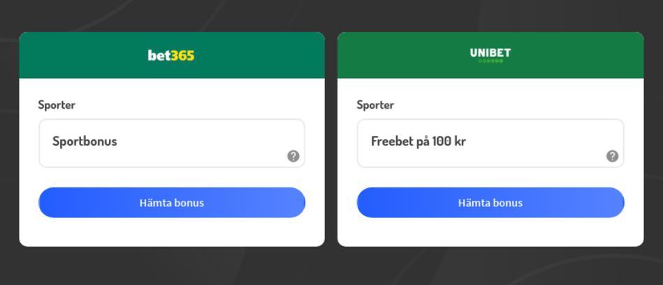 Bettingsidor med odds på fotbolls-EM